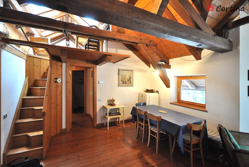 Casa Rossa appartamento Cielo, holiday rental in Selva di Cadore