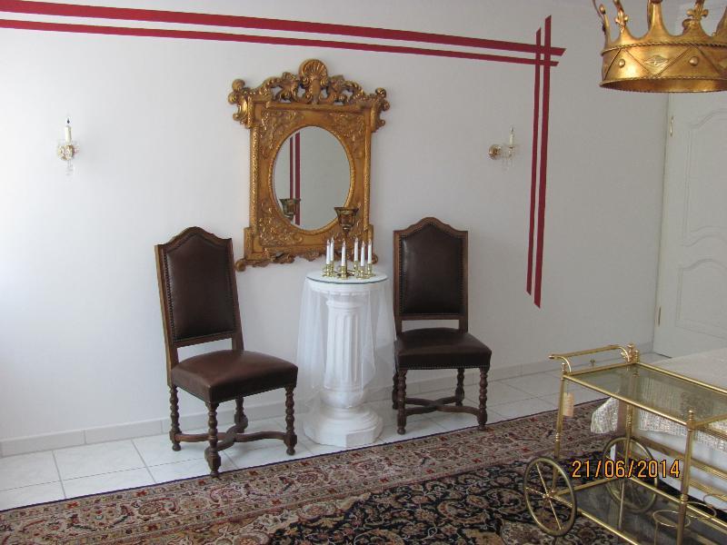 Sitzecke im Königszimmer