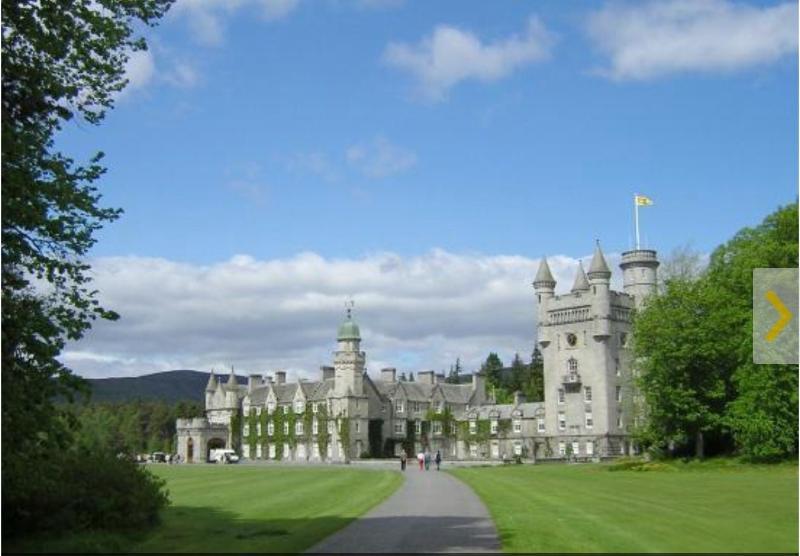Balmoral Castle just 10mins away.