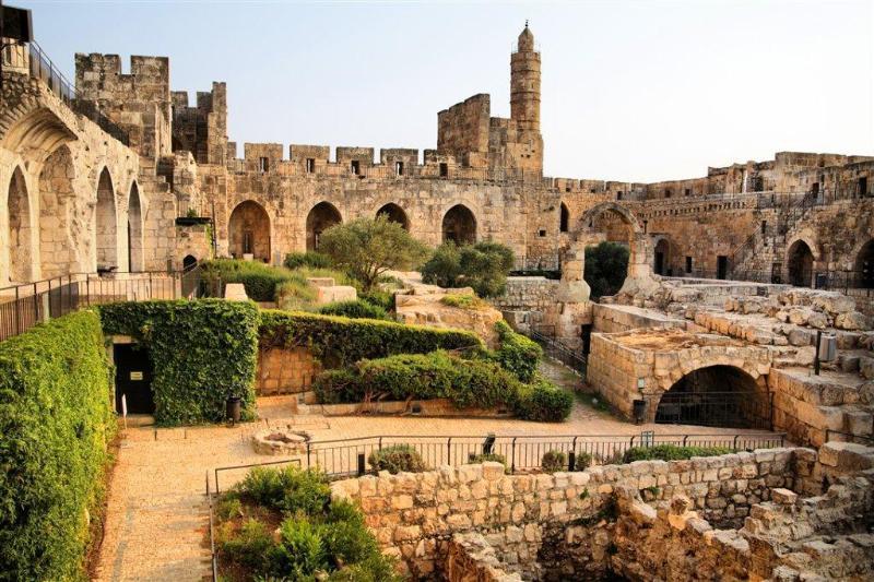 De oude stad - de toren van David