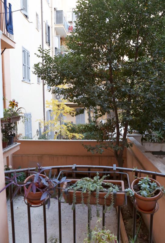 le balcon dans la chambre à coucher