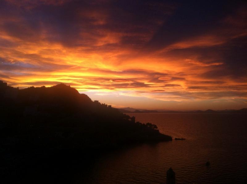 Spectacular Hydra sunset