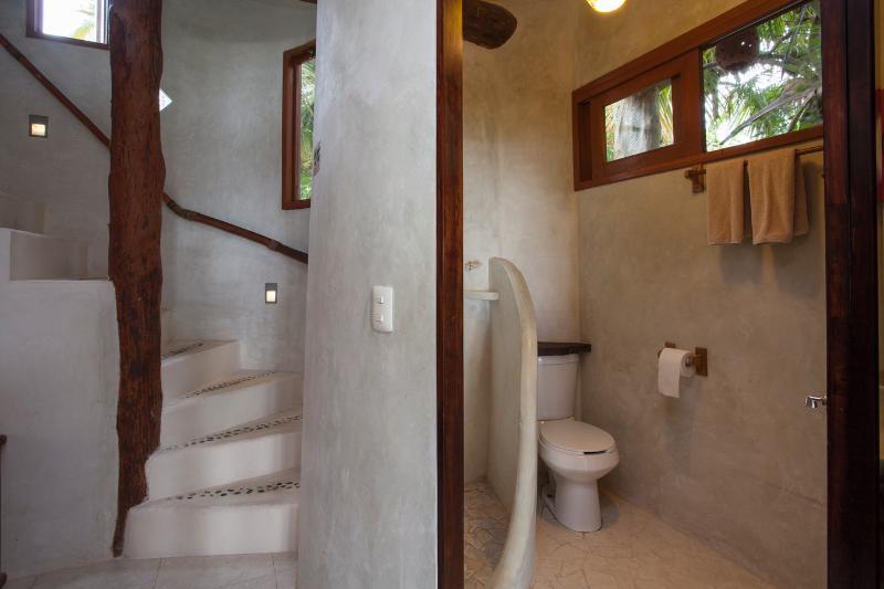 Erdgeschoss Badezimmer mit Dusche