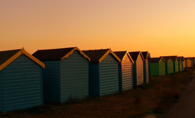 Littlehampton cabanas de praia