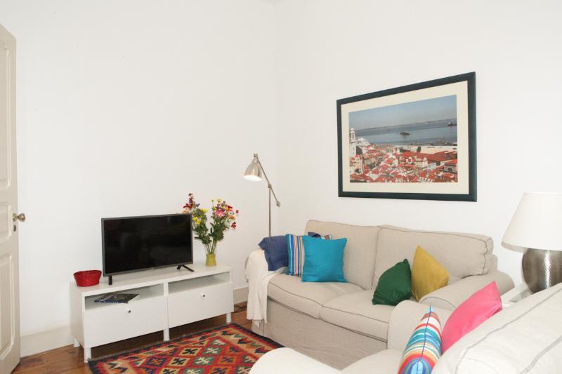 Salon confortable avec TV avec chaînes internationales et un accès WI-FI