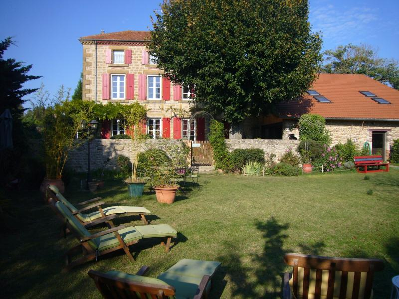 les 7 semaines, holiday rental in Chateauneuf-de-Galaure