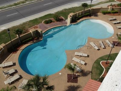 Outdoor Pool From Balcony