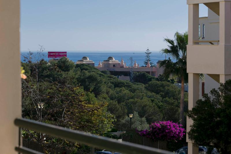 Coastal apartment 5 min from the sea with lovely sea views A/C, vacation rental in Sitio de Calahonda