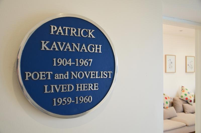 This Mews was once home to Ireland's beloved poet and novelist Patrick Kavanagh