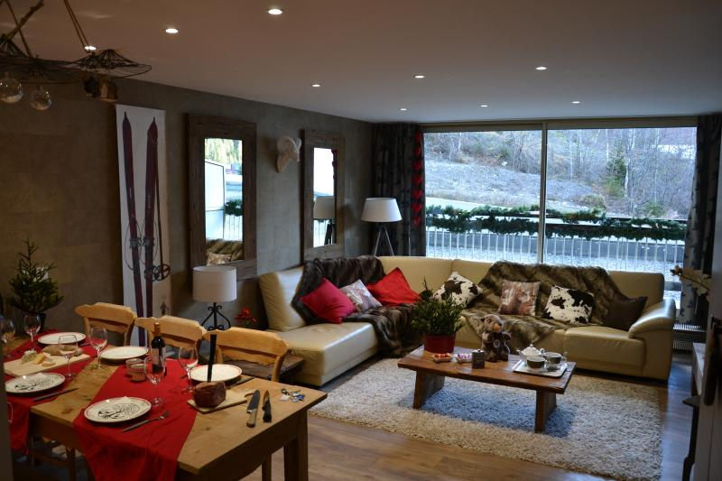Luxury apartment Courchevel 1650, Ferienwohnung in Courchevel