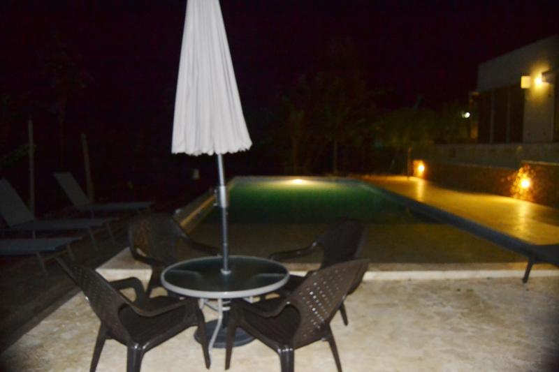 Otra vista desde la piscina