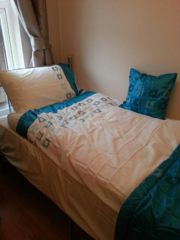 double room with excellent view over London. it can be used for a single or couple