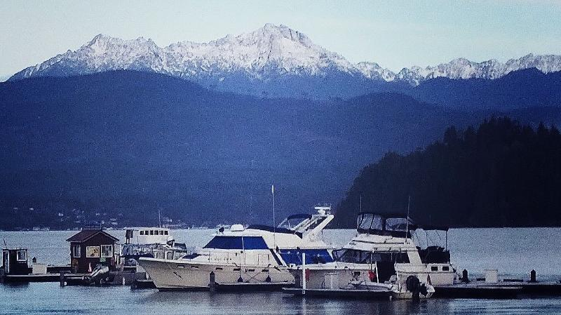 The Hood Canal Marina in Union