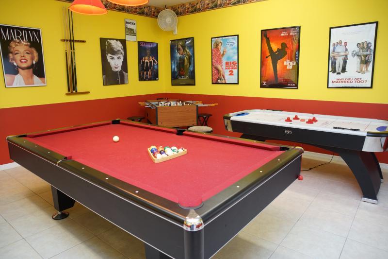 Sala de jogos profissional privada
