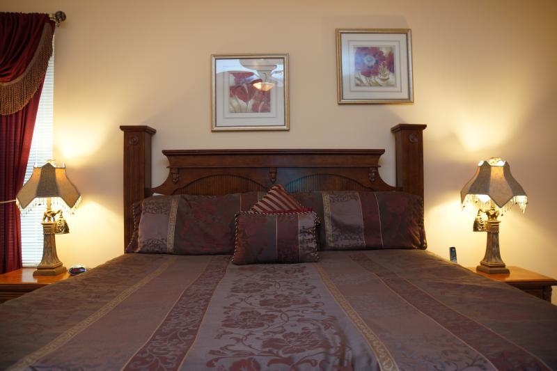 First floor king master-suite (Bedroom #1)