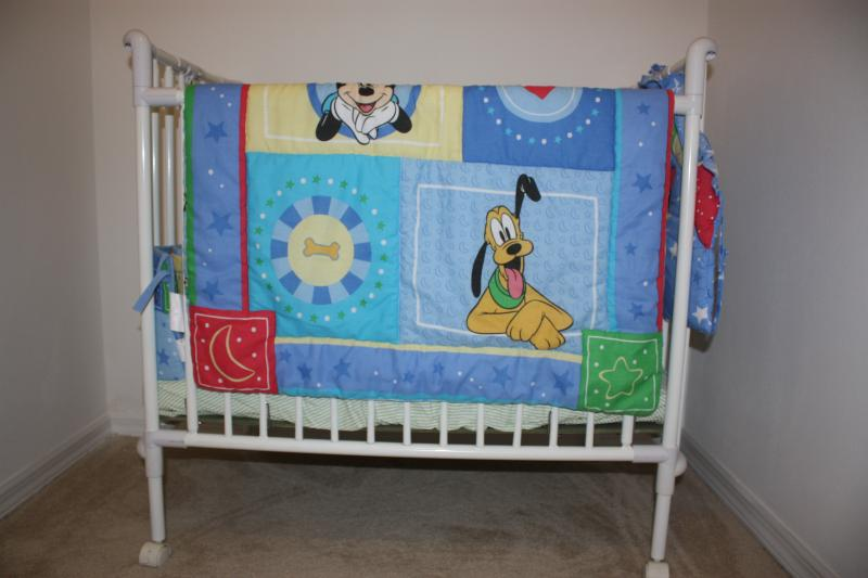 Full size crib at no cost (A $75/week value)