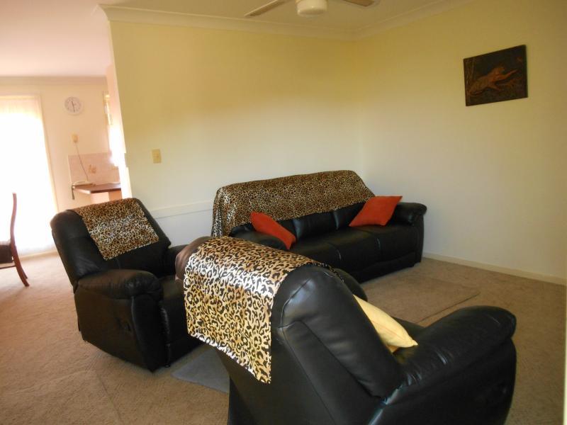 Lounge kamer lederen sofa 's