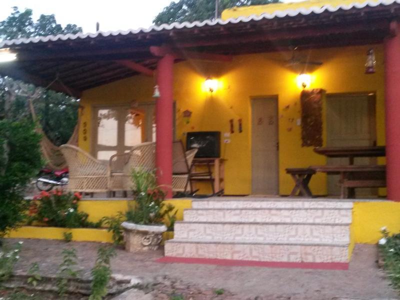 frontal Vista chalé Girassol