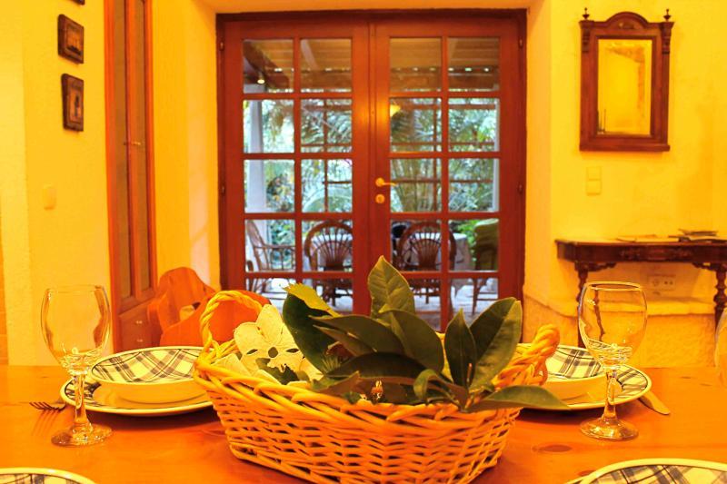 Sala da pranzo + cucina