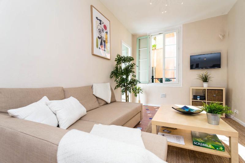 Lumineuse et spacieuse salle de séjour