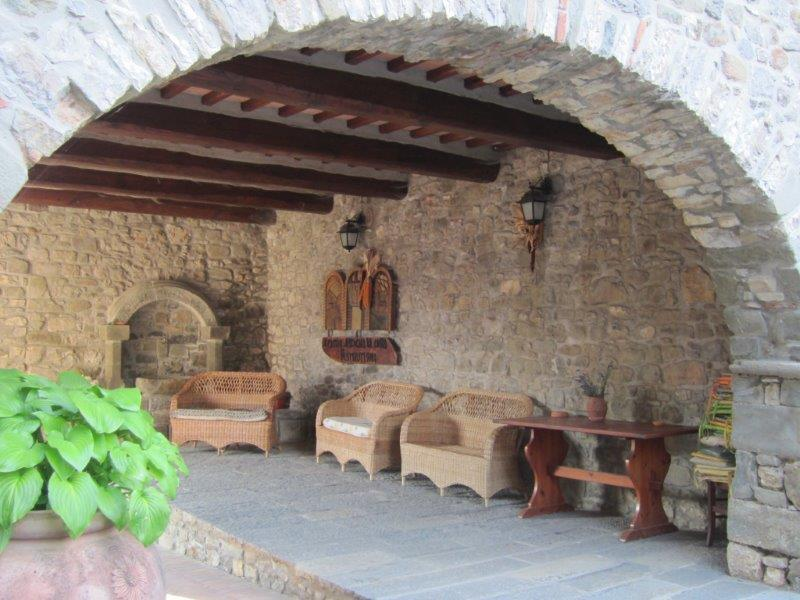 Original arched courtyard