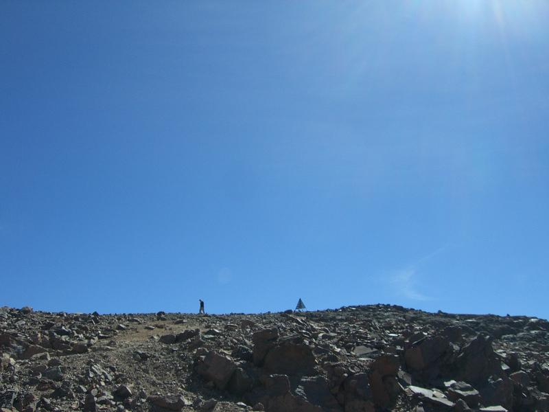 the peak of the Toubkal