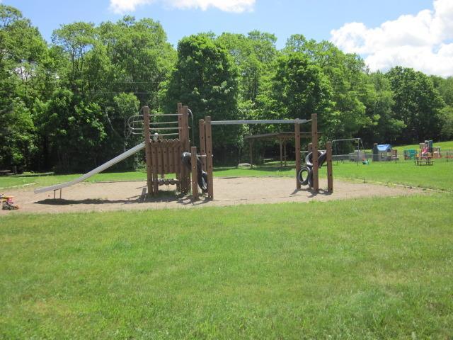 Beaver Valley timber playground.