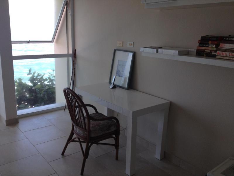 Master bedroom desk area