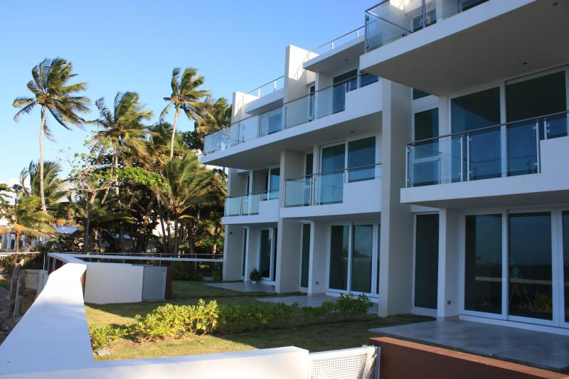 Ocean front view of the apartment