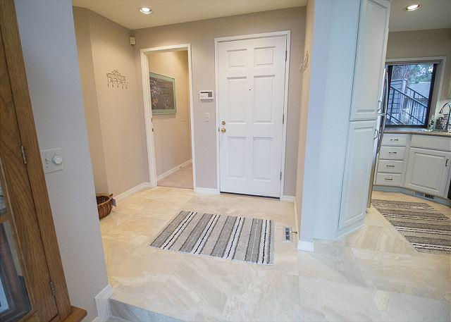 Nice, large entryway