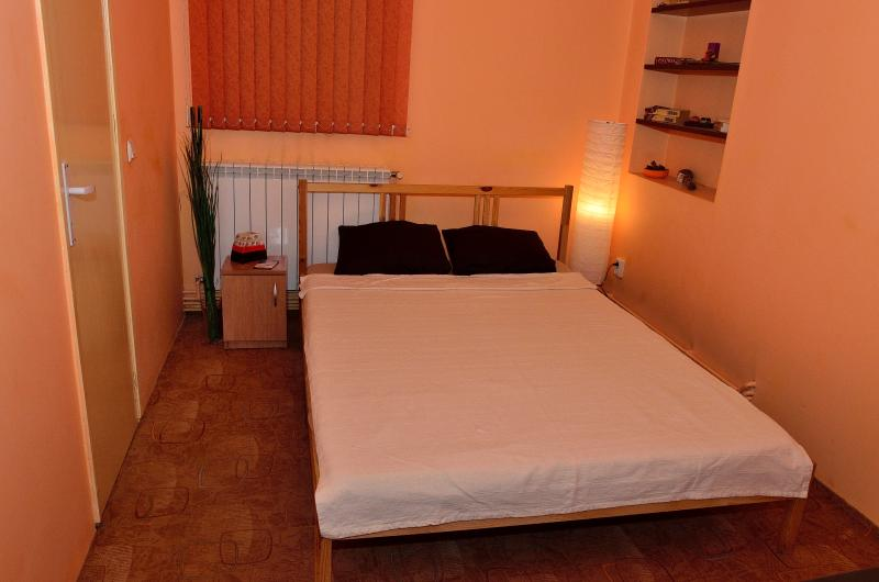 Room 1 featuring a double bed, private bathroom, TV and WiFi