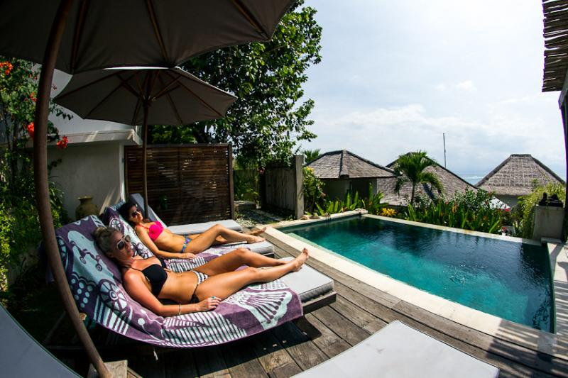 VILLA KUNDALINI 2 bed, 2 bathroom Private Pool. Perfect location to beach, Surf breaks, Cafes & Bars