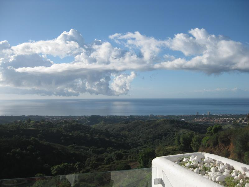 Vue exceptionnel de la terrasse