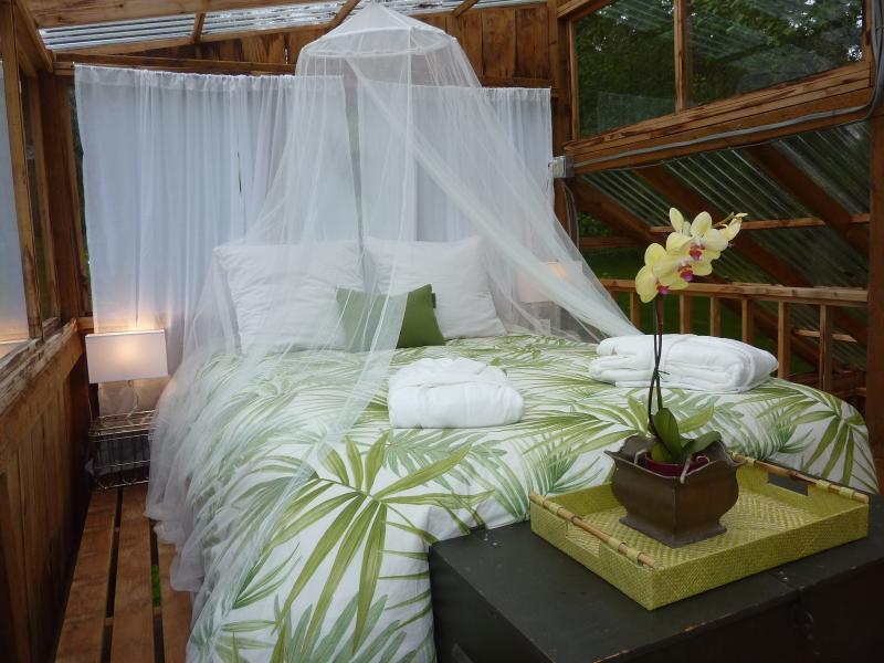 Fabulous 'Bali House' sleeping loft!