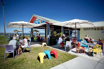 Tuncurry Rockpool Kiosk-Cafe, paradijs.
