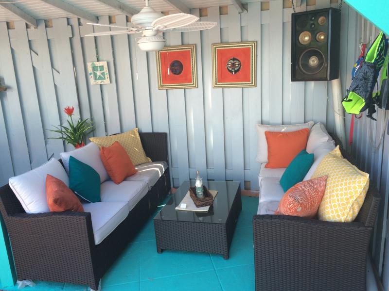 The updated cabana!