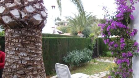 Casa ANNA Denia, private garden