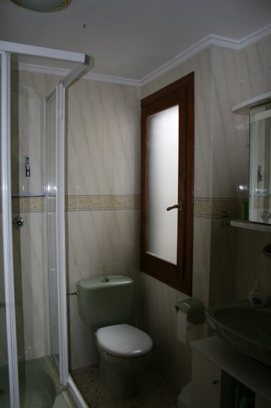 Bathroom with douche
