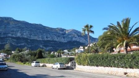 uitzicht op natural park Montgo