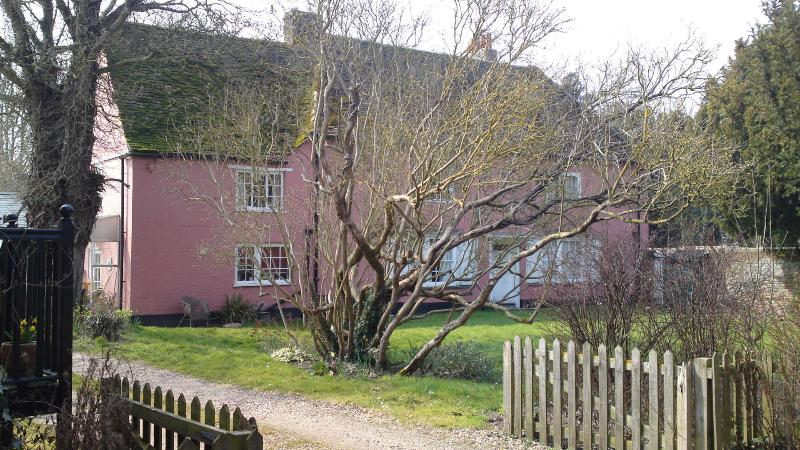 View of Chalk Farmhouse from the Granary Steps