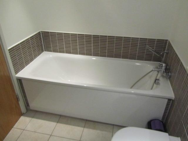 Bath in Upstairs Bathroom (there is also a shower cubicle aswell)