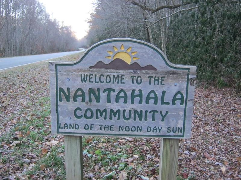 Escape to the mountains of Nantahala in Western North Carolina.