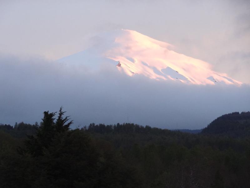 Volcan Villarrica in Winter