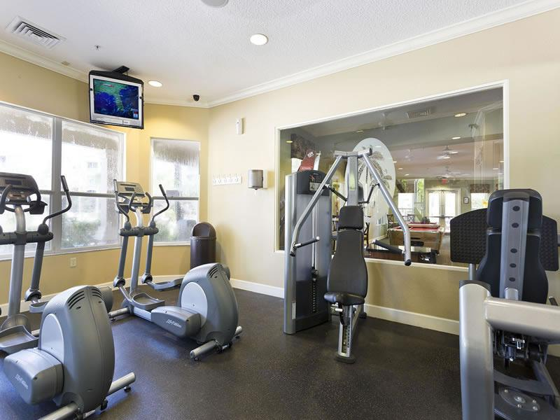 Complimentary Workout Facility