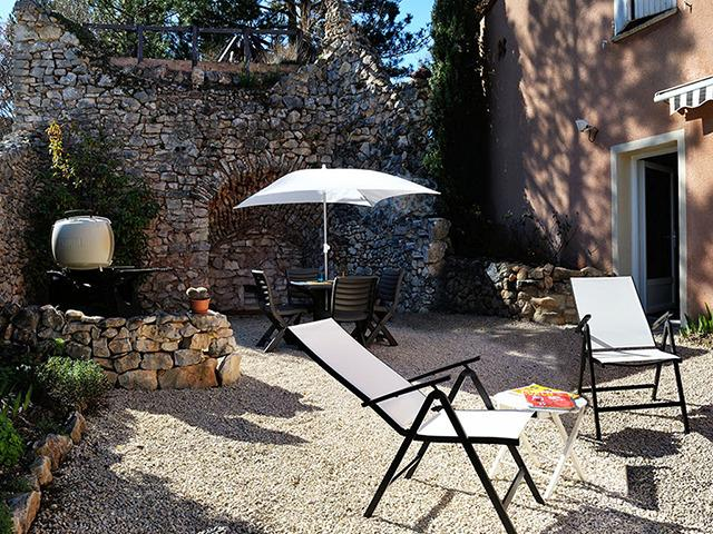 The outdoor space with the lime kiln