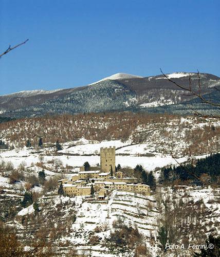 Vinter i Porciano