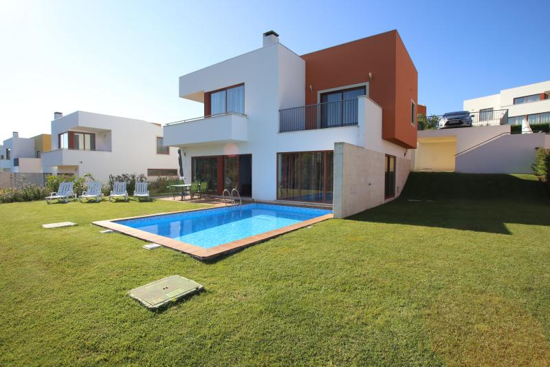 View of Villa with private pool and private Gardens with off road parking for 2 cars