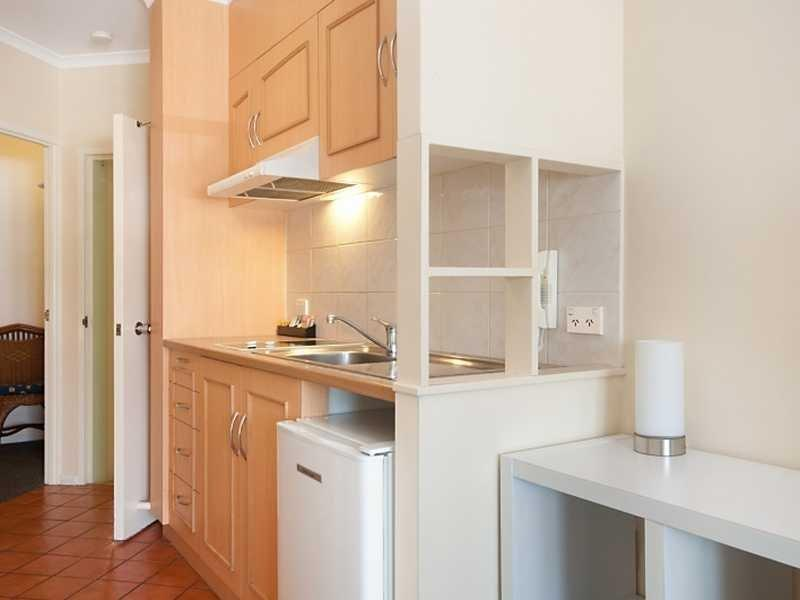 Kitchen, equipped for short stay