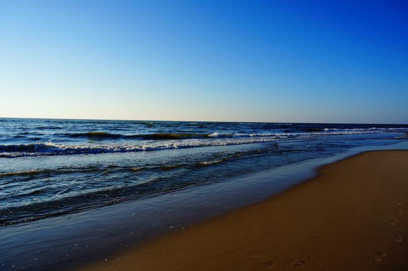 Endloser  Natur Sandstrand