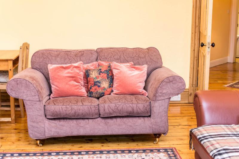 Comfy new sofa